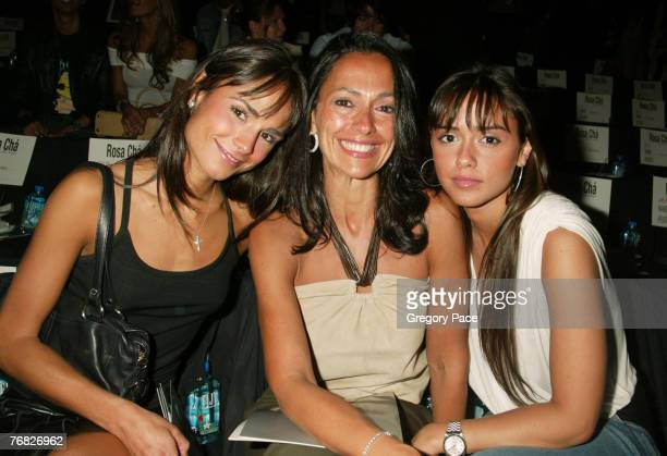 Jordana Brewster with her mother Maria Joao and her sister Isabella