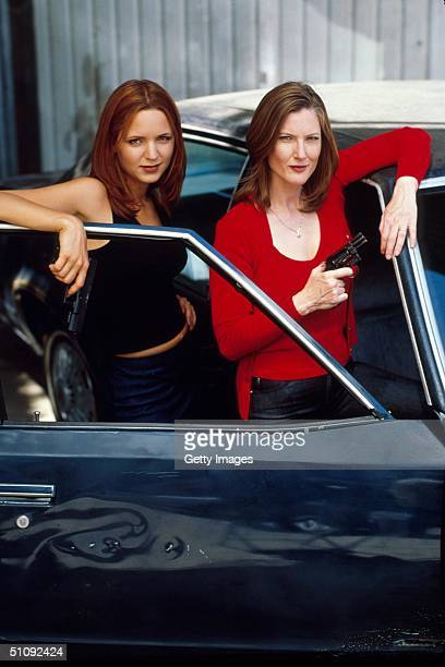 """Jordana Spiro And Annette O'Toole Star In USA Network's Original Series, """"The Huntress,"""" Based On The Exploits Of Real Life Bounty Hunter Dottie..."""