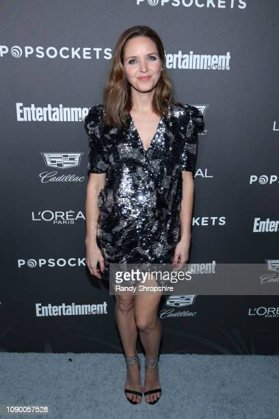Jordana Spiro attends Entertainment Weekly Celebrates Screen Actors Guild Award Nominees sponsored by L'Oreal Paris Cadillac And PopSockets at...