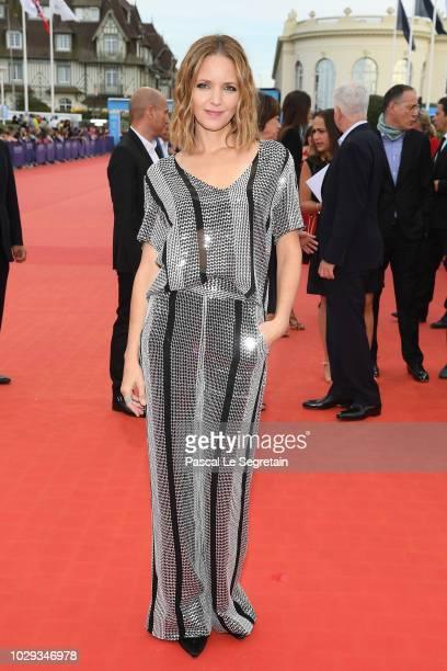 Jordana Spiro attends Jury Award Winners of the 44th Deauville American Film Festival on September 8 2018 in Deauville France