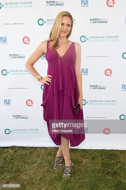 Jordana Spiro attends OCRF's 18th Annual Super Saturday NY Hosted by Donna Karan and Kelly Ripa on July 25 2015 in Water Mill City