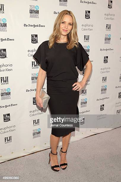 Jordana Spiro attends the 25th IFP Gotham Independent Film Awards cosponsored by FIJI Water on November 30 2015 in New York City