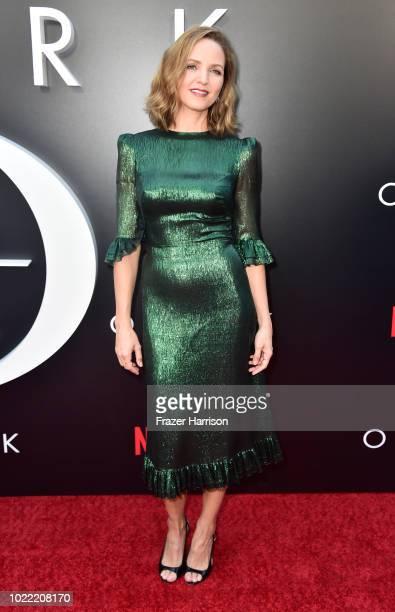 Jordana Spiro attends the Premiere Of Netflix's Ozark Season 2 at ArcLight Cinemas on August 23 2018 in Hollywood California