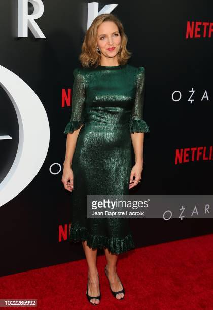 Jordana Spiro attends the premiere of Netflix's 'Ozark' Season 2 at the Arclight Theatre on August 23 2018 in Los Angeles California