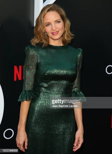 Jordana Spiro attends the premiere of Netflix's 'Ozark' Season 2 at the Arclight Theatre on August 23, 2018 in Los Angeles, California.