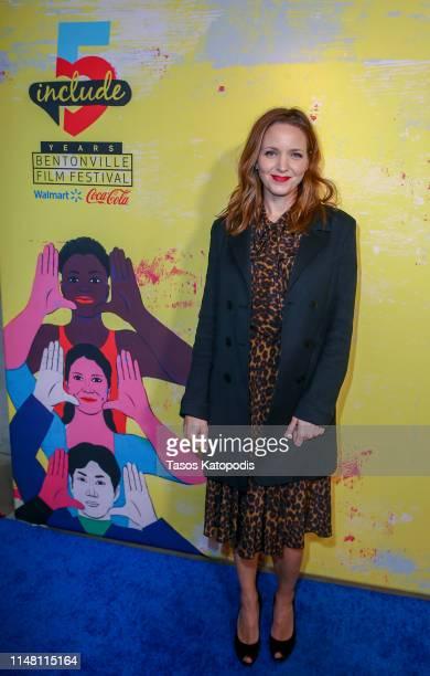 Jordana Spiro of To The Stars walks the blue carpet at the 5th Annual Bentonville Film Festival on May 09 2019 in Bentonville Arkansas
