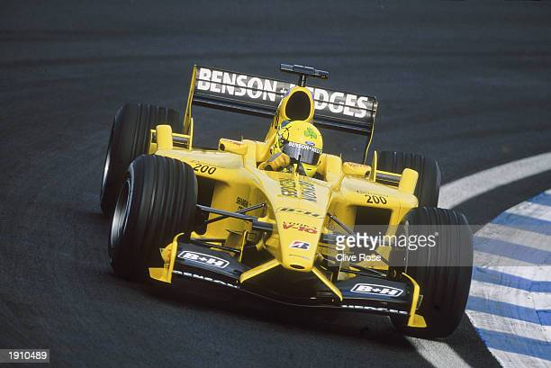 JordanFord driver Ralph Firman of Great Britain in action during the Brazilian Formula One Grand Prix held on April 6 2003 at Interlagos in Sao Paulo...
