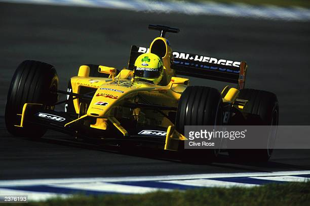 JordanFord driver Ralph Firman of Great Britain in action during the German Formula One Grand Prix held on August 3 2003 at Hockenheim in Germany