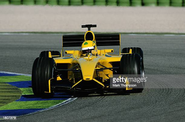 JordanFord Formula One driver Ralph Firman test driving for JordanFord during Formula One winter testing held on February 12 2003 in Valencia Spain