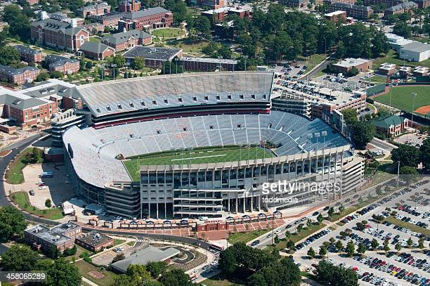 jordan-hare stadium - auburn alabama stock photos and pictures