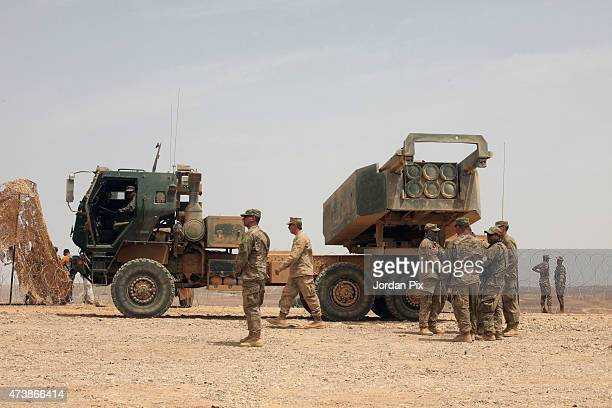 Jordanian and US in addition to Italians participate in the final counter attack during the 5th annual exercise Eager Lion 2015 in the southeast...