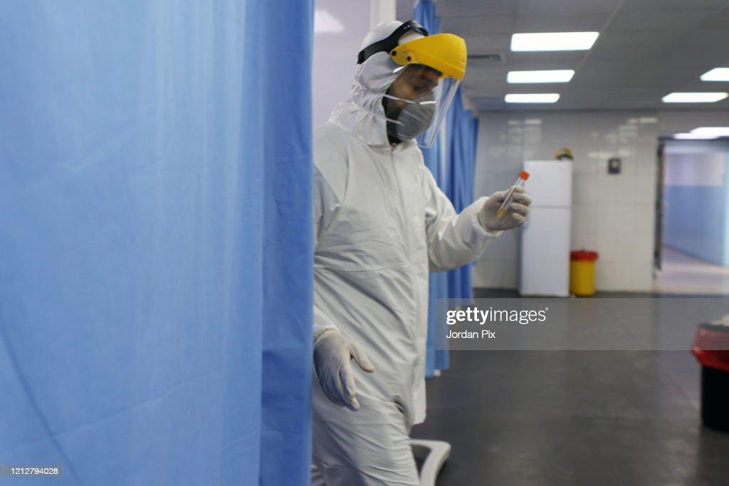 Coronovirus Testing in Jordan : News Photo