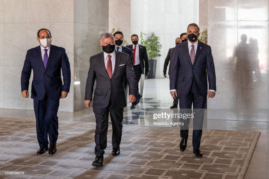 Trilateral summit in Amman : News Photo