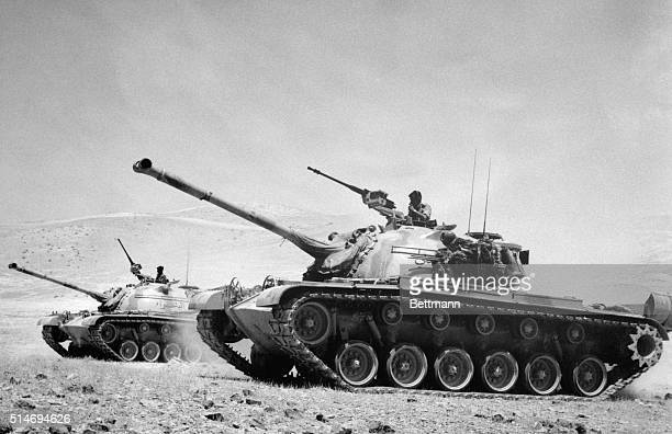 Jordanian military tanks on the border of Israel just before the start of the SixDay War Within two days Jerusalem would be within Israeli control |...