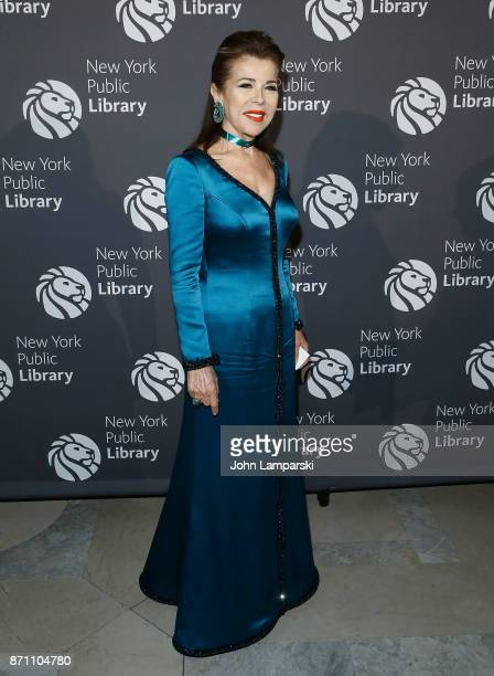 Jordanian Princess HRH Princess Firyal attends the New York Public Library 2017 Library Lions Gala at the New York Public Library at the Stephen A...