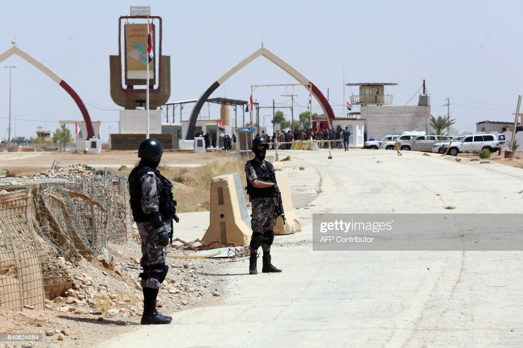 JORDAN-IRAQ-CONFLICT-BORDER : News Photo
