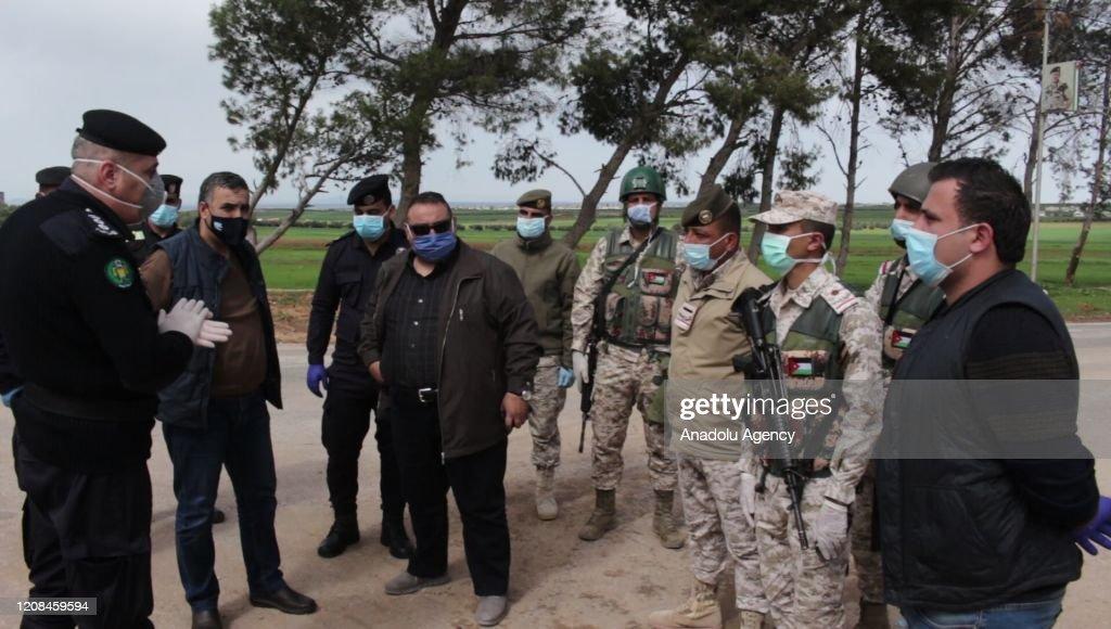 Covid-19 precautions in Ramsa : News Photo