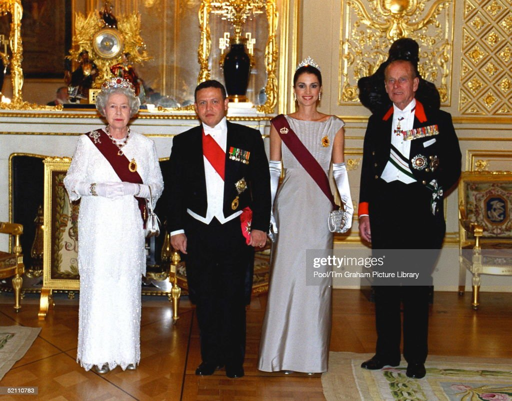 Queen Philip Rania Abdullah : News Photo