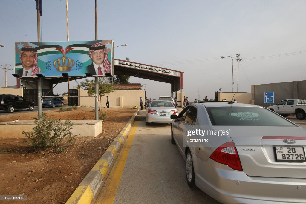 Jordan And Syria Agree To Open Main Border Crossing : News Photo