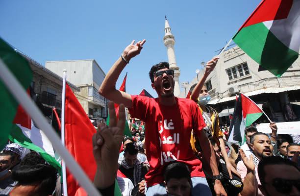 JOR: Jordanians Join Pro-Palestinian Protests