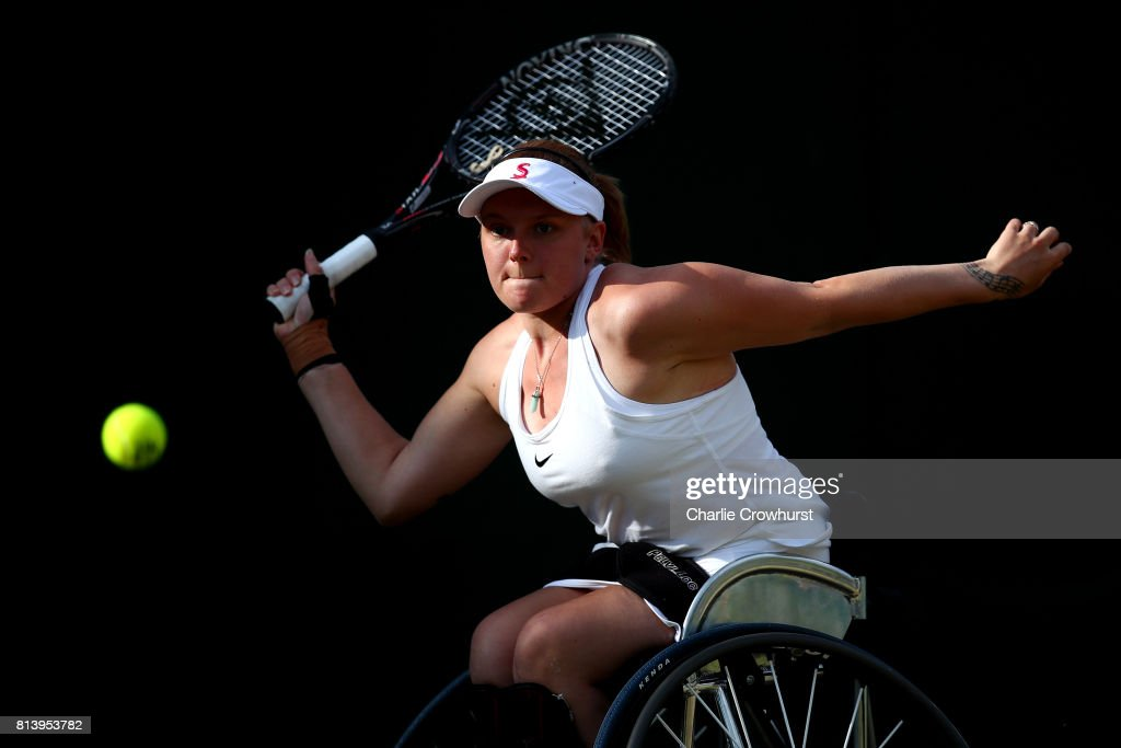 The Championships - Wimbledon 2017 - Wheelchair Event Day 1 : News Photo