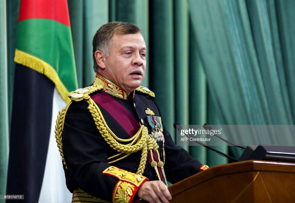 JORDAN-POLITICS-ROYALS-PARLIAMENT : News Photo