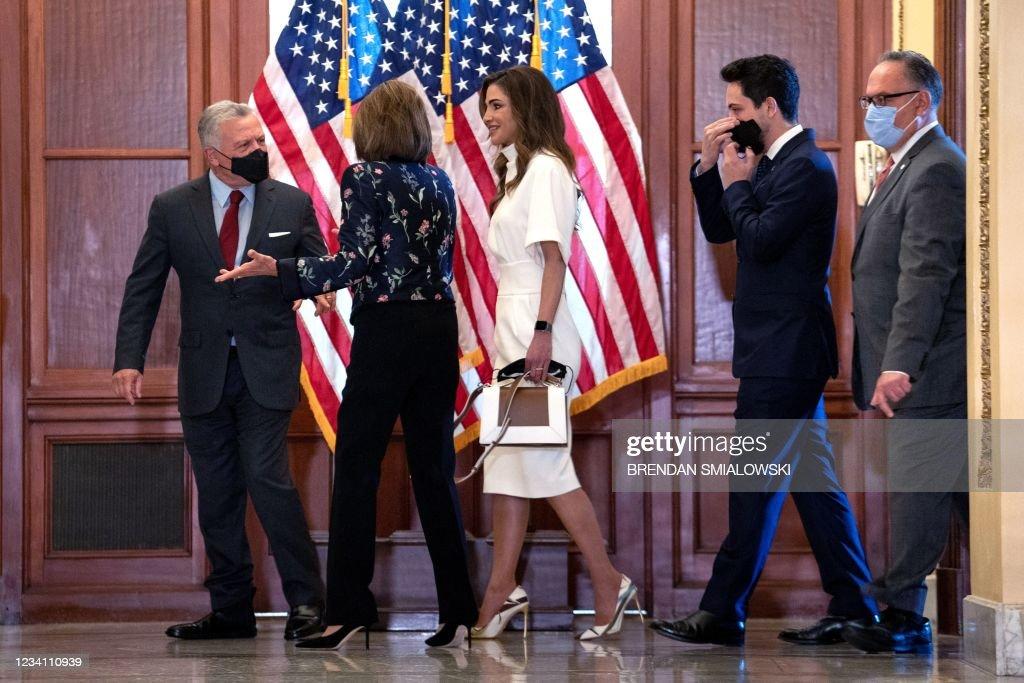 US-JORDAN-CONGRESS-DIPLOMACY : News Photo