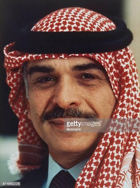 Jordan's King Hussein.