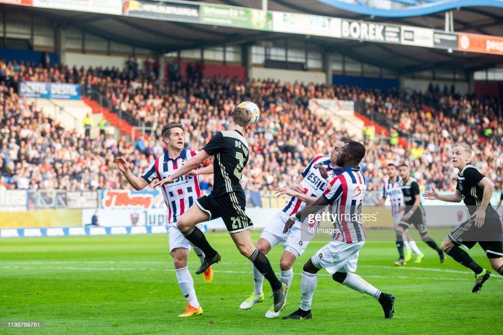 """Dutch Eredivisie""""Willem II v Ajax"""" : News Photo"""