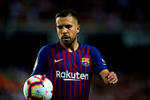 jordi alba during week la liga