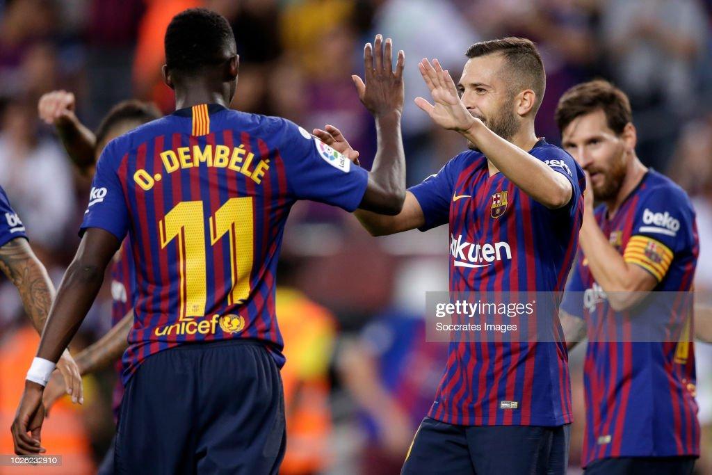 FC Barcelona v SD Huesca - La Liga Santander : ニュース写真