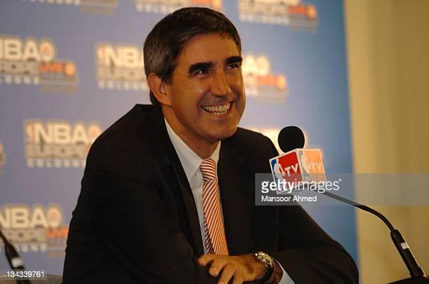Jordi Bertomeu, CEO of Eurolegue Basketball, during the NBA Europe Live Tour Press conference on October 11, 2006 at the Kölnarena in Cologne,...