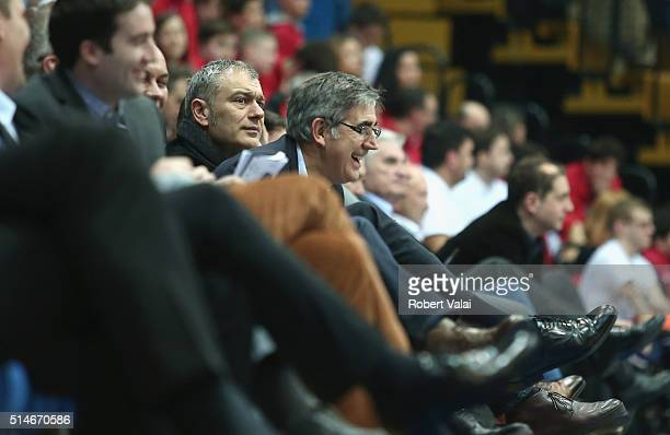 Jordi Bertomeu President and CEO Euroleague Basketball during the 20152016 Turkish Airlines Euroleague Basketball Top 16 Round 10 game between...