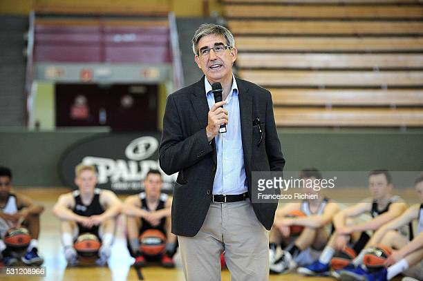 Jordi Bertomeu President and CEO Euroleague Basketball during the 2016 Turkish Airlines Euroleague Final Four International Coaches Clinic at...