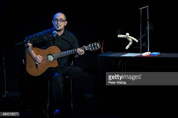Jordi Bertran performs during the second Semifinal of 'Das Supertalent' TV Show on December 07 2013 in Cologne Germany