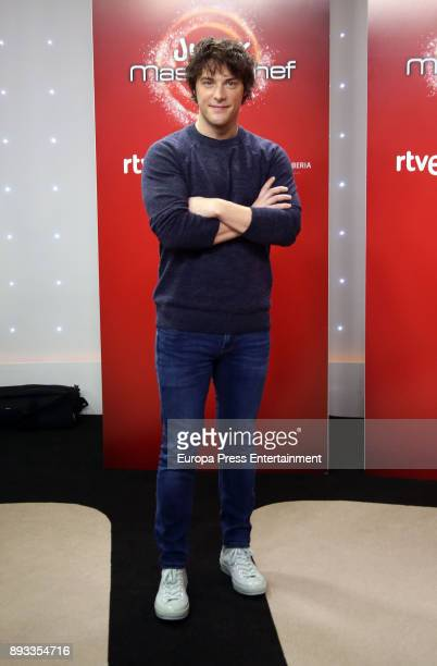 Jordi Cruz attends the presentation of a new seson of 'Masterchef Junior' at TVE studios on December 14 2017 in Madrid Spain