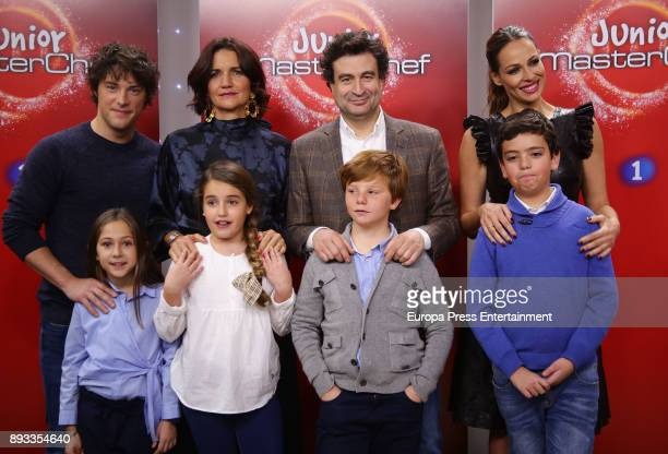 Jordi Cruz Pepe Rodriguez Rey Samantha VallejoNagera Eva Gonzalez Maria Esther Fernando and Juan Antonio attend the presentation of a new seson of...