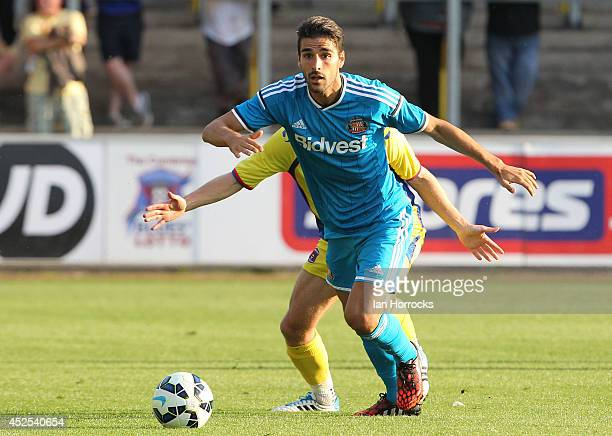 Jordi Gomez of Sunderland during a PreSeason friendly match between Carlisle United and Sunderland at Brunton Park on July 22 2014 in Carlisle England
