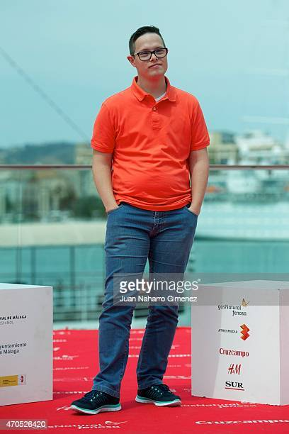 Jordi Llodra attends the 'Requisitos Para Ser Una Persona Normal' photocall during the 18th Malaga Spanish Film Festival at Port on April 21 2015 in...