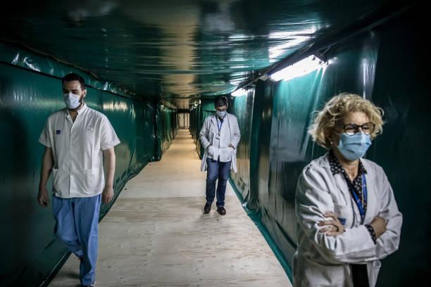 ESP: Inside Barcelona's Hospital del Mar Coronavirus Field Hospital