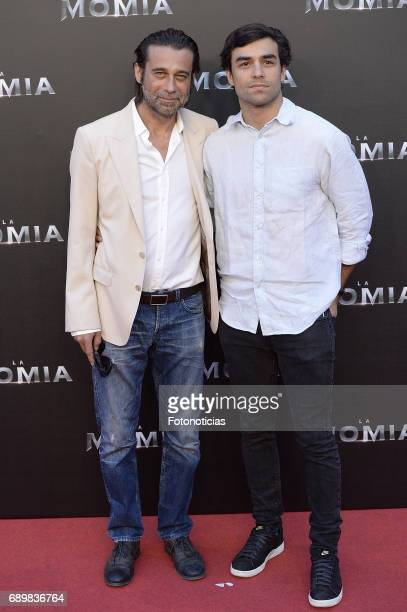 Jordi Molla and Diego Osorio attend 'The Mummy' premiere at Callao cinema on May 29 2017 in Madrid Spain