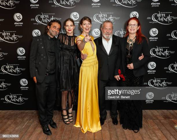 Jordi Molla Holly Gilliam Amy Gilliam Terry Gilliam and Maggie Gilliam attend the Alacran Pictures party celebrating the premiere of The Man Who...