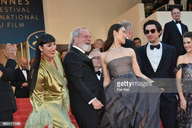 Jordi Molla Rossy de Palma Mariela Besuievsky Terry Gilliam Stellan Skarsgard Olga Kurylenko and Adam Driver attend the Closing Ceremony screening of...