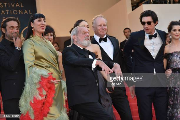 Jordi Molla Rossy de Palma Mariela Besuievsky Terry Gilliam Stellan Skarsgard Olga Kurylenko Adam Driver and Joana Ribeiro attend the Closing...