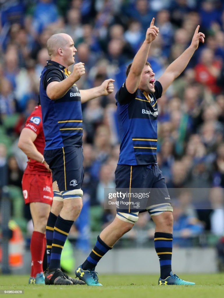 Leinster Rugby v Scarlets - European Rugby Champions Cup Semi-Final