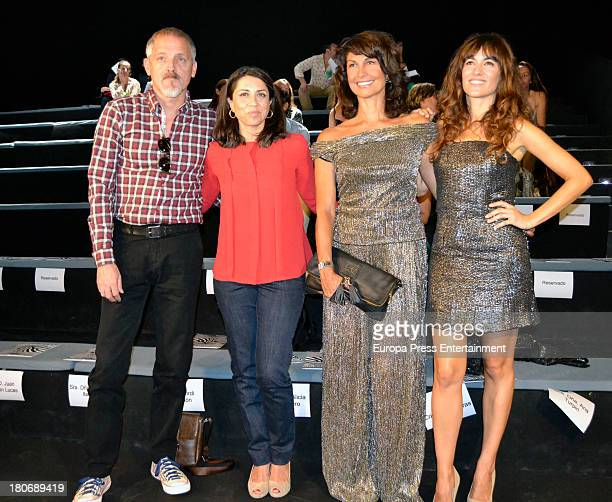 Jordi Revellon Alicia Borrachero Cristina Higueras and Ana Turpin attend a fashion show during the Mercedes Benz Fashion Week Madrid Spring/Summer...