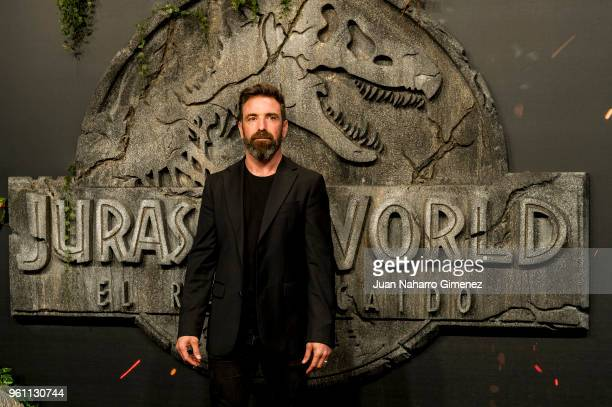 Jordi Sanchez attends the 'Jurassic World Fallen Kindom' premiere at Wizink Center on May 21 2018 in Madrid Spain