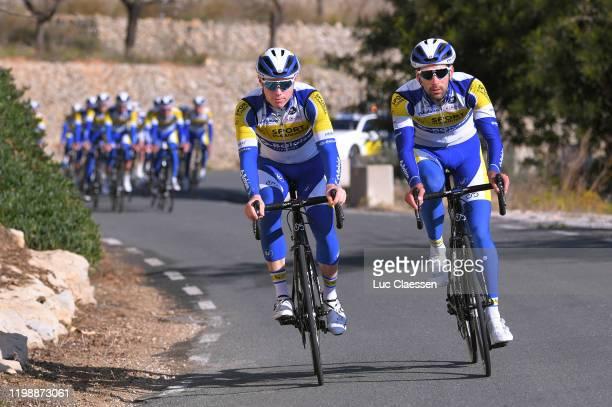 Jordi Warlop of Belgium and Team Sport Vlaanderen - Baloise / Emiel Planckaert of Belgium and Team Sport Vlaanderen - Baloise / during the Team Sport...