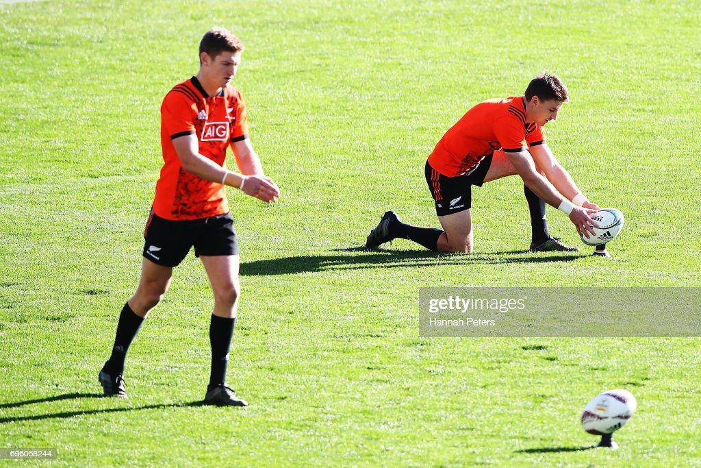 New Zealand All Blacks Training Session