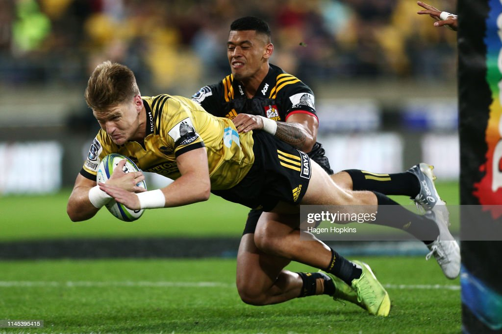 Super Rugby Rd 11 - Hurricanes v Chiefs : News Photo